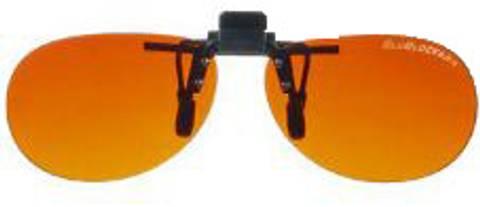 Bilde av BluBlocker Retro clip-on polarisert solbrille