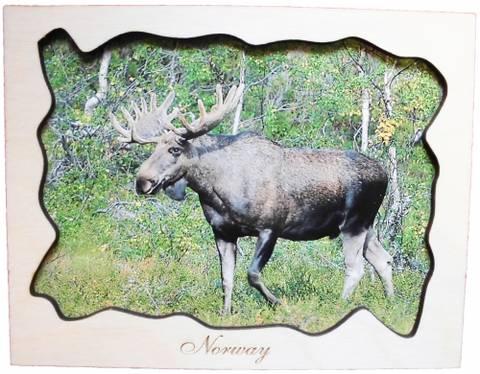 Bilde av Treramme - Elg