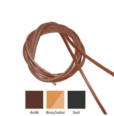 Bilde av Skoreimer i skinn brun