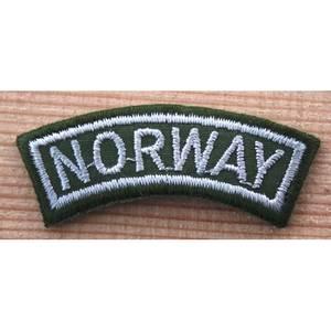 Bilde av NORWAY/HVIT PÅ GRØNN