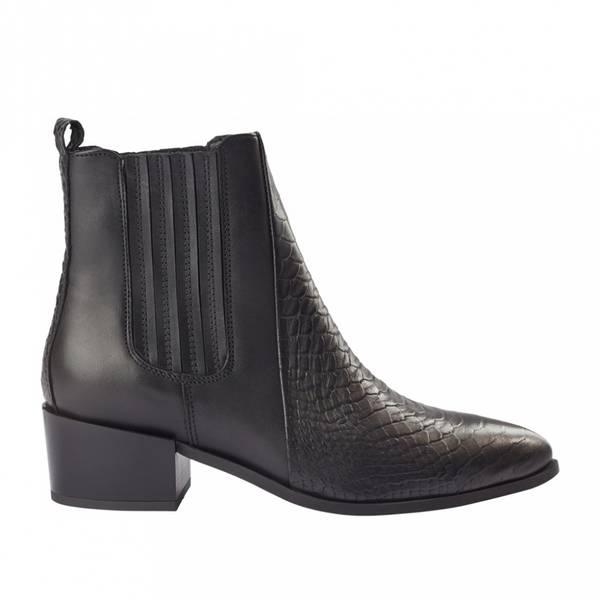 Bilde av Pavement - Sage Croco Ankel Boots