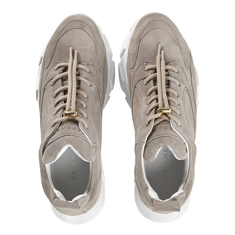 Bilde av Pavement - Portia Sneakers Suede Grey