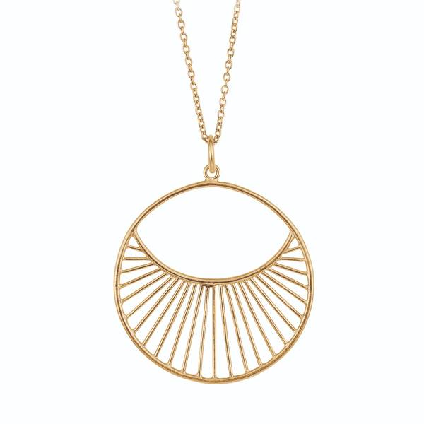 Bilde av Pernille Corydon - S Daylight Necklace 80cm Gull