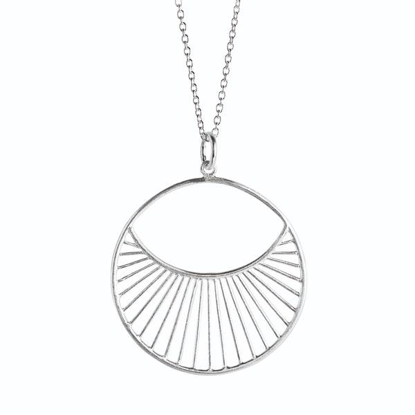 Bilde av Pernille Corydon - S Daylight Necklace 80cm Sølv