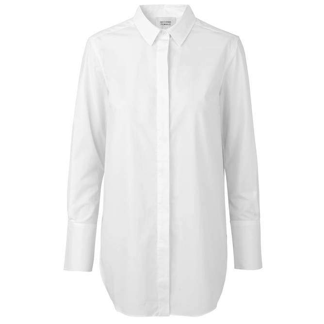 Bilde av Second Female - Skjorte Larkin Classic Shirt