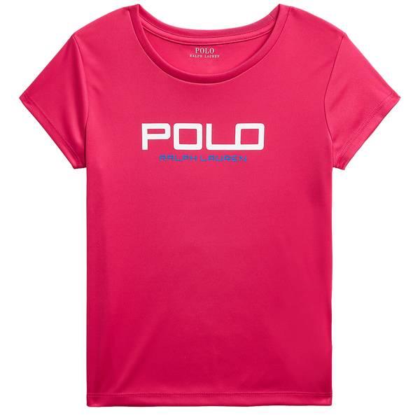 Bilde av Polo Ralph Lauren Teens - SS Graph Tee SPORT Pink