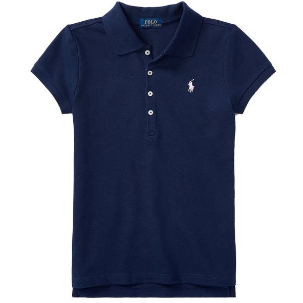 Bilde av Polo Ralph Lauren Teens - SS Polo Shirt Navy