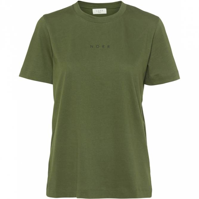 Bilde av Norr - Logo Tee Light Green
