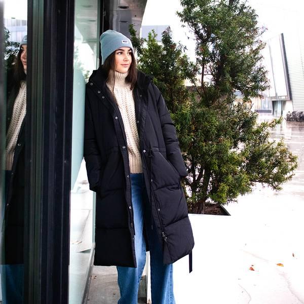 Bilde av Second Female - Buffy Coat Svart