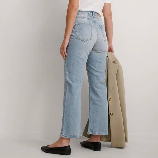 Bilde av NA-KD - Highwaist Relaxed Jeans