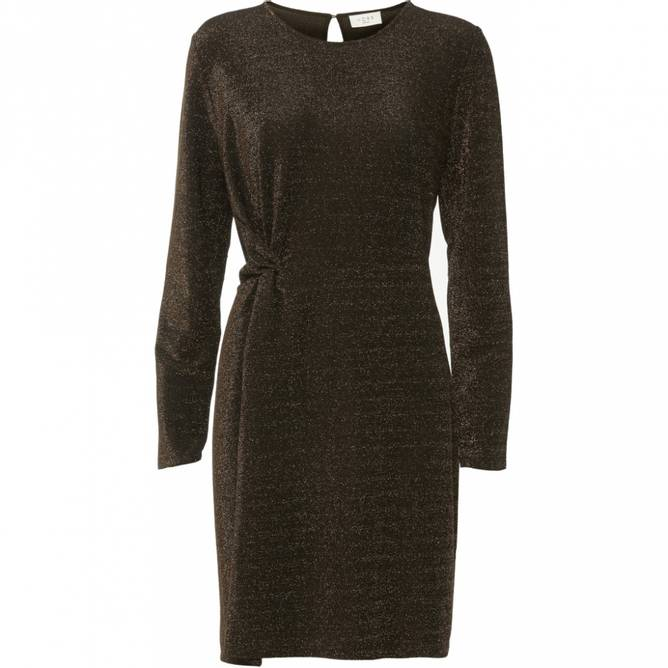 Bilde av Norr - New Una Dress Golden Brown
