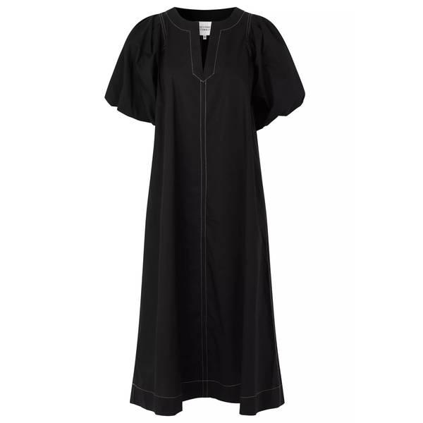 Bilde av Second Female - Larkin Maxi Dress Svart