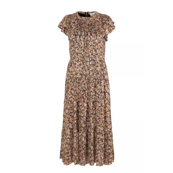 Bilde av Second Female - Kjole Dagmar Dress Toasted Almond