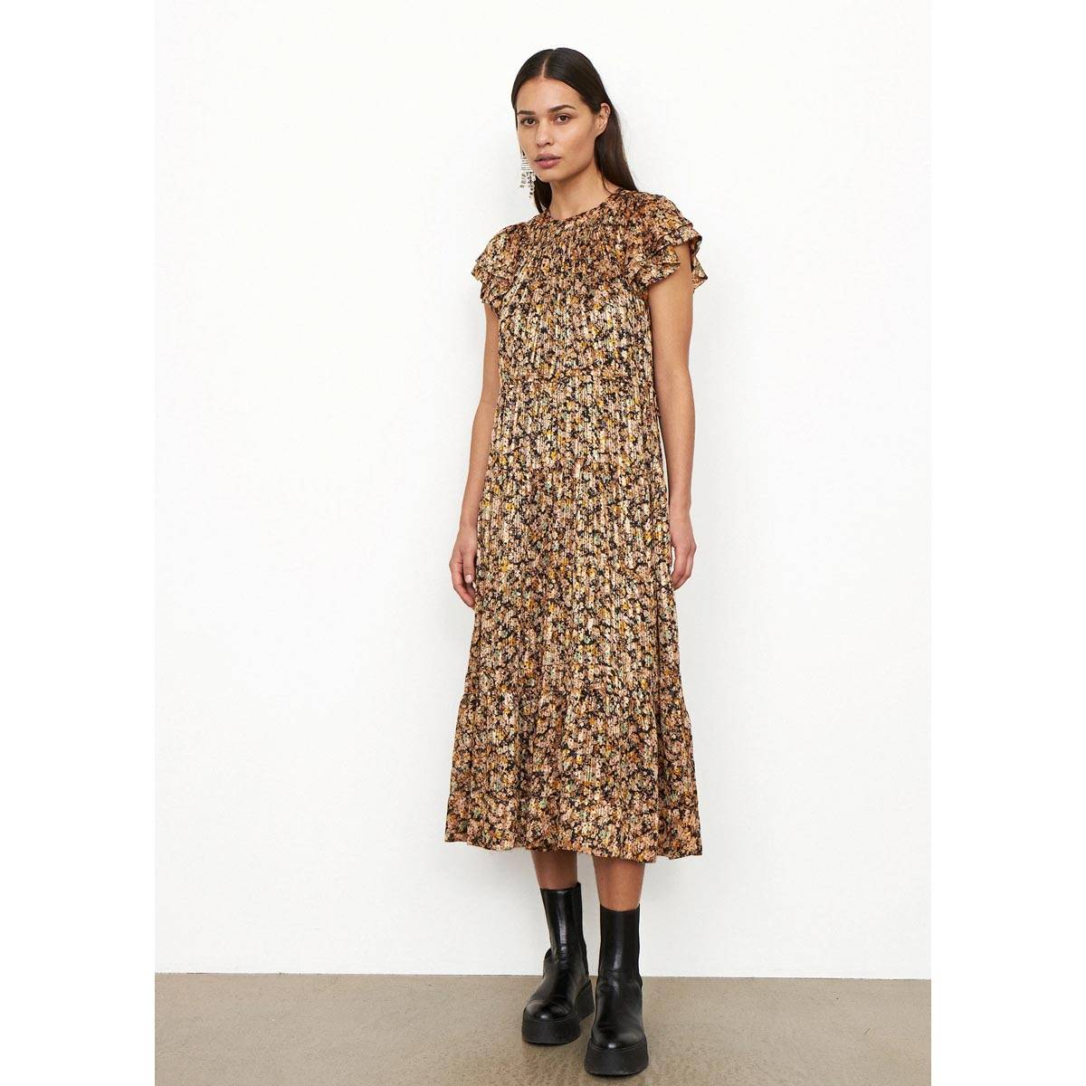 Second Female - Kjole Dagmar Dress Toasted Almond