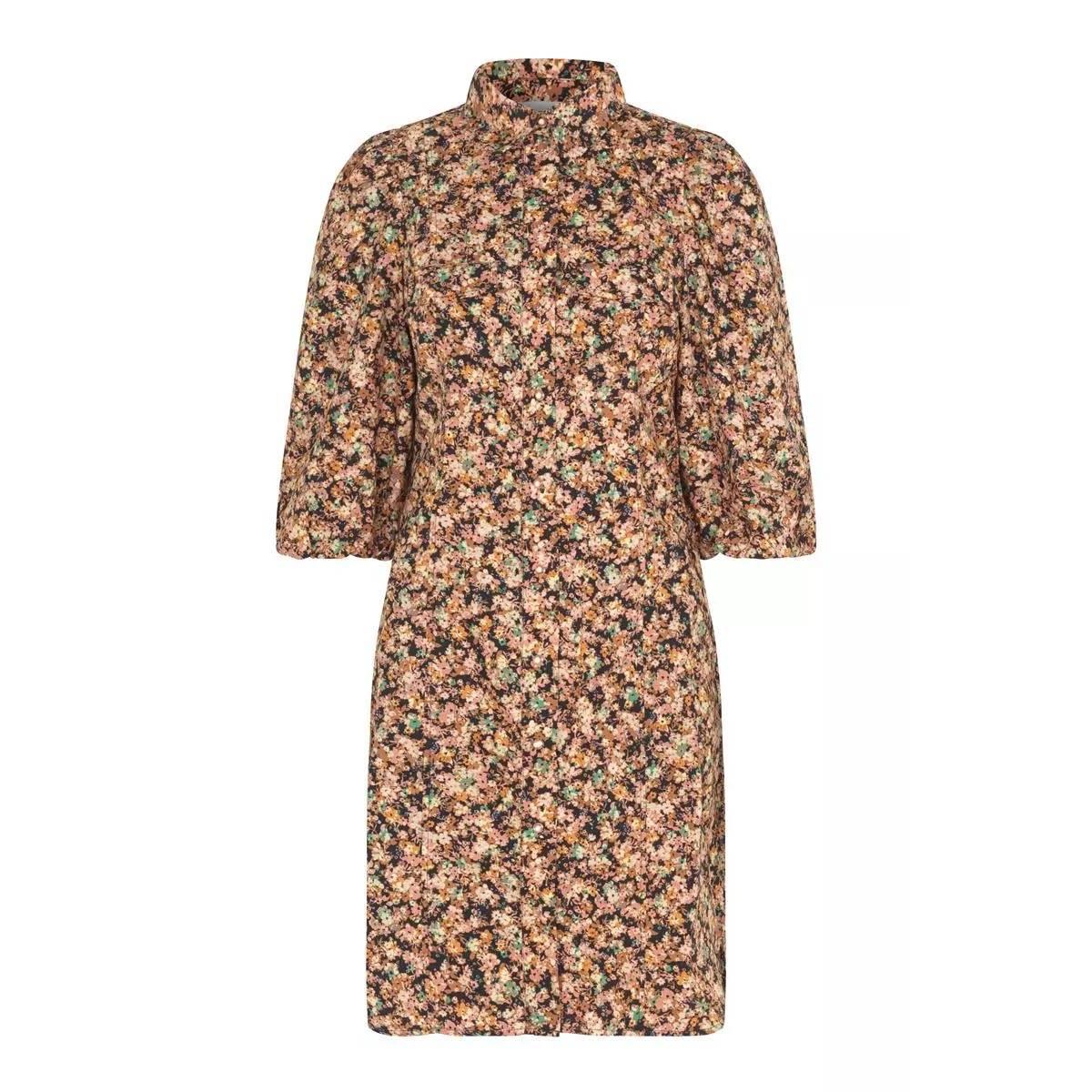 Second Female - Kjole Mayda Dress Roasted Nut
