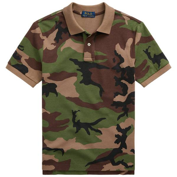 Bilde av Polo Ralph Lauren - Polo shirt Green Army Camo