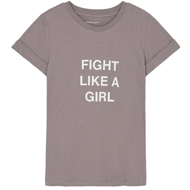 Bilde av Designer Remix Girls - G Stanley Fight Tee Taupe