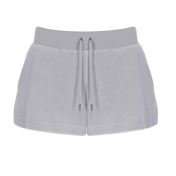 Bilde av Juicy Couture - Shorts Eve Cotton Rich Quiet Grey