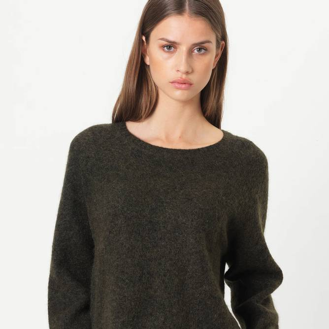 Bilde av Second Female - Brook Knit New Loose O-Neck