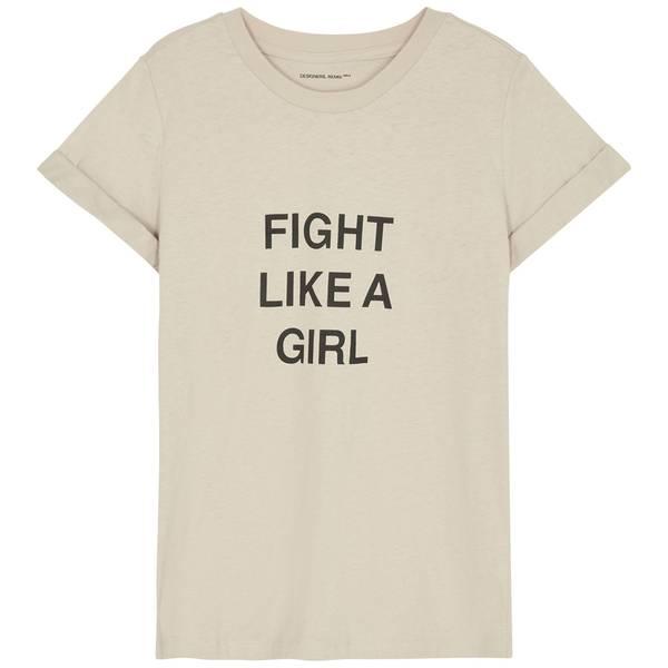 Bilde av Designers Remix Girls - G Stanley Fight Tee Beige