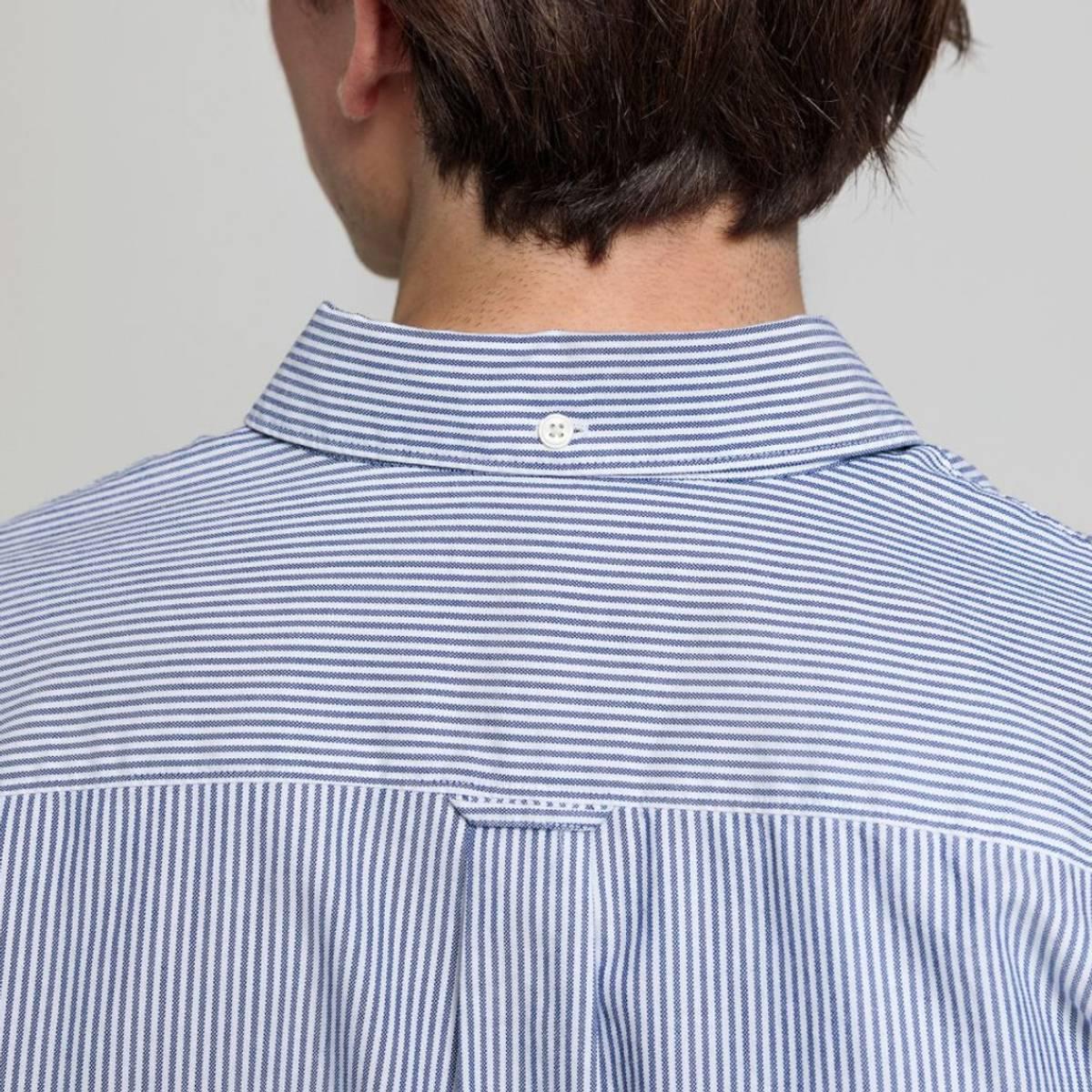 GANT - Oxford Stripe Shirt Klassisk