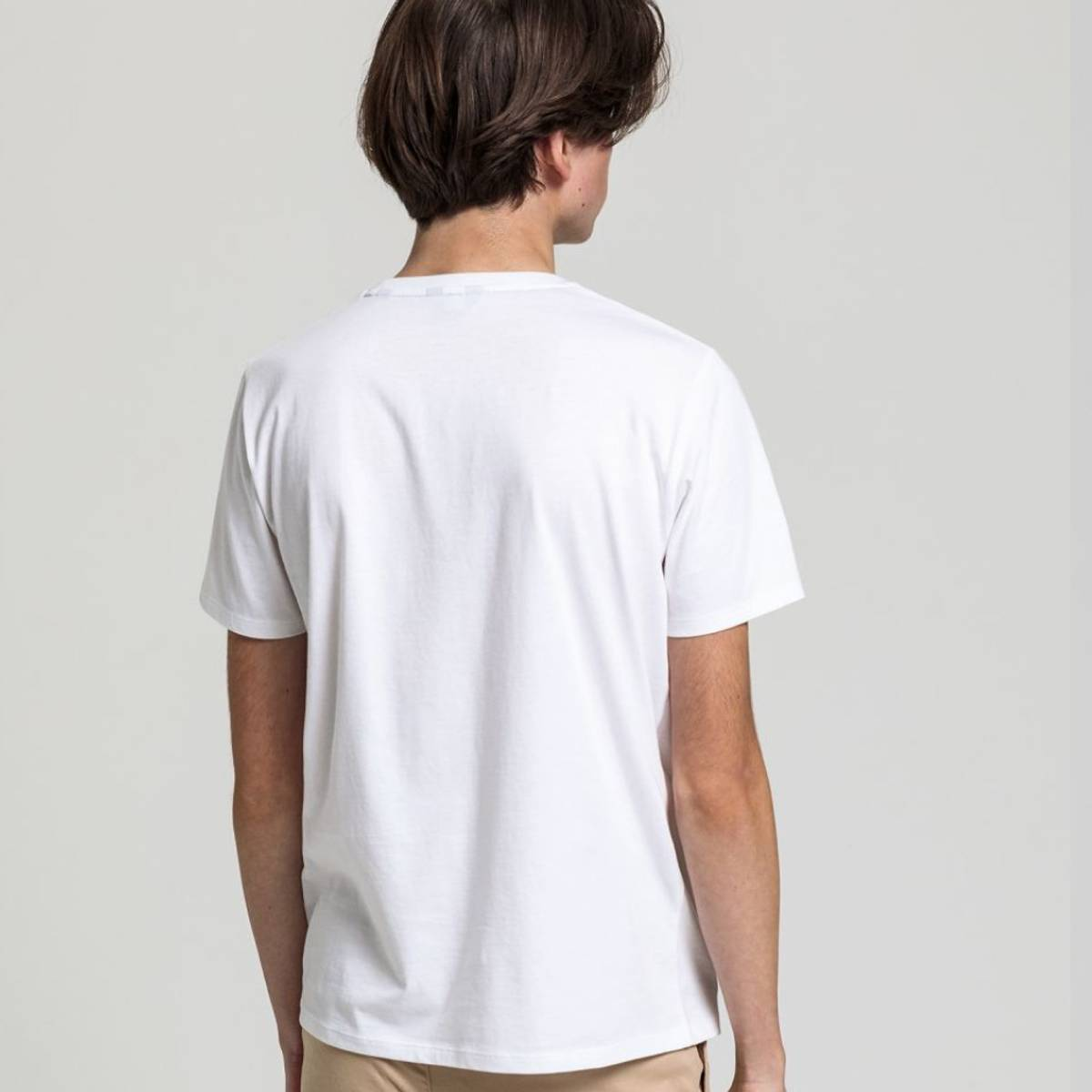 GANT - The Original T-Skjorte Hvit