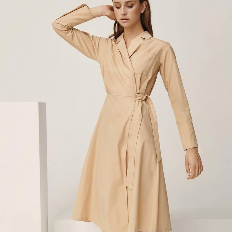 Bilde av Moss Copenhagen - Charlie LS Wrap Dress