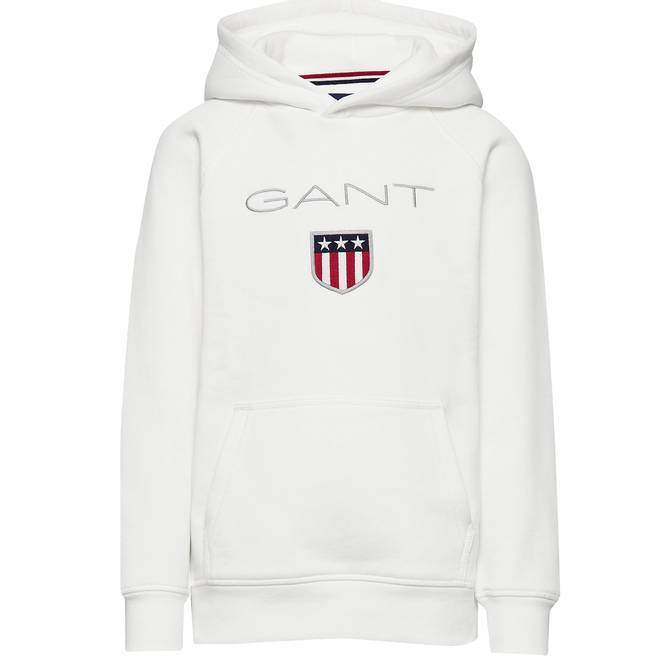Bilde av GANT -  Shield Sweat Hood Eggeskall