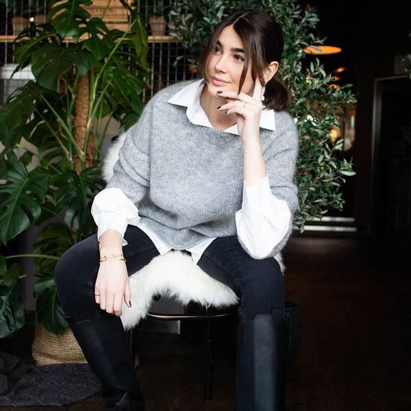 Bilde av Second Female - Koorb Knit O - Neck