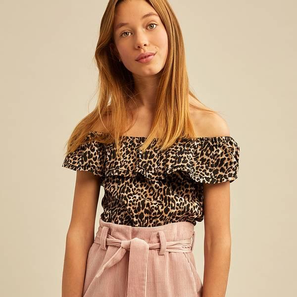 Bilde av Les Coyotes de Paris - Cece blouse Leopard