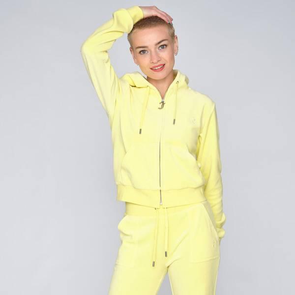 Bilde av Juicy Couture - Jakke Robertson Cotton Rich Lemon