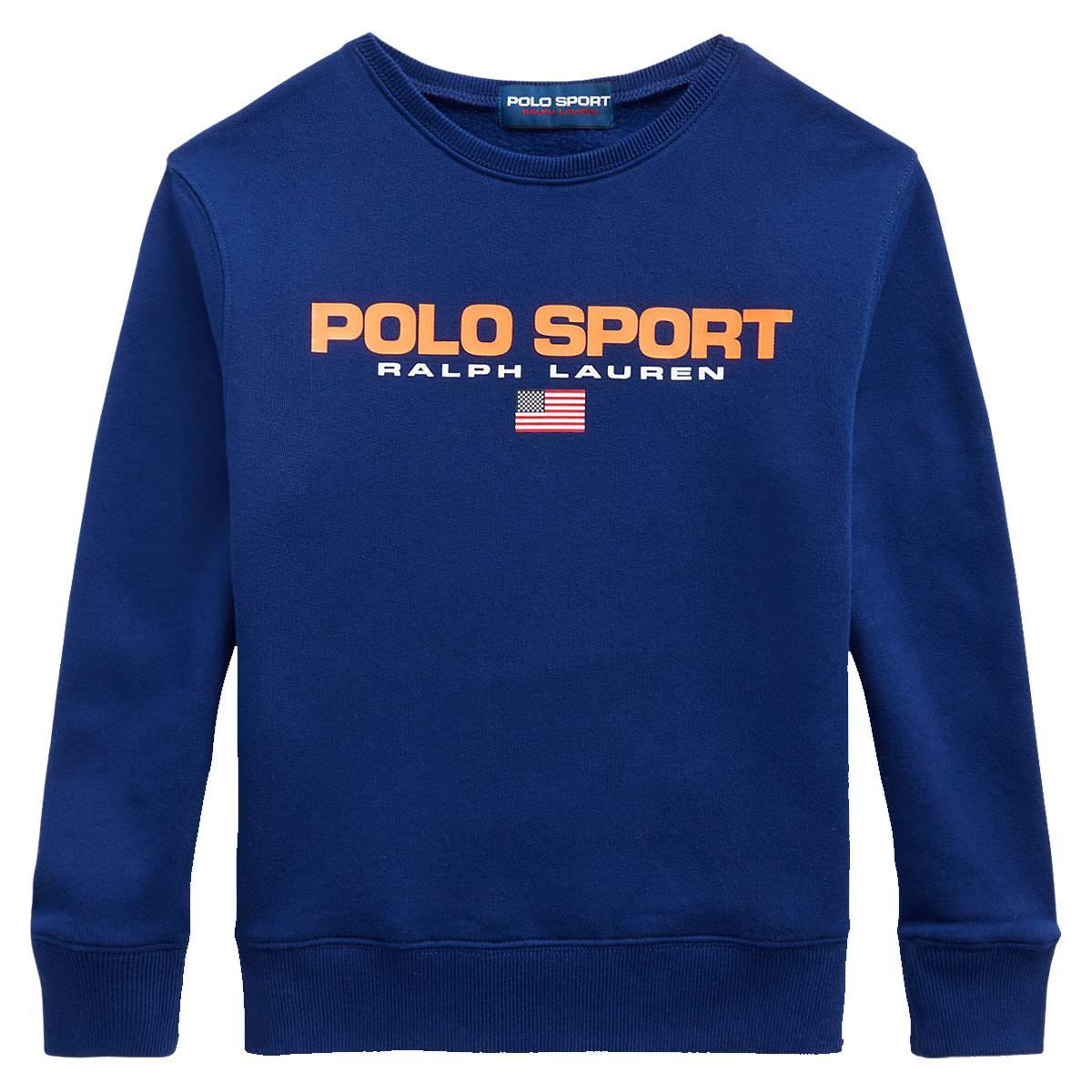 Polo Ralph Lauren Teens - Sport Retro Sweat Blå
