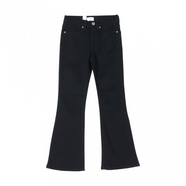 Bilde av Grunt - Flare Black Sleng Jeans
