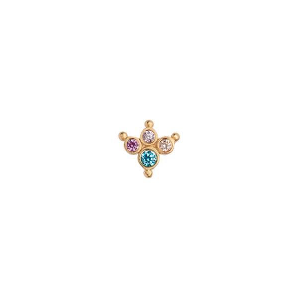 Bilde av Stine A - Øredobb Petit Candy Fleur Earring Gold