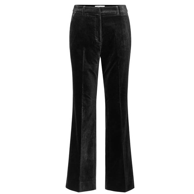Bilde av Second Female - Vega Trousers Svart Velour