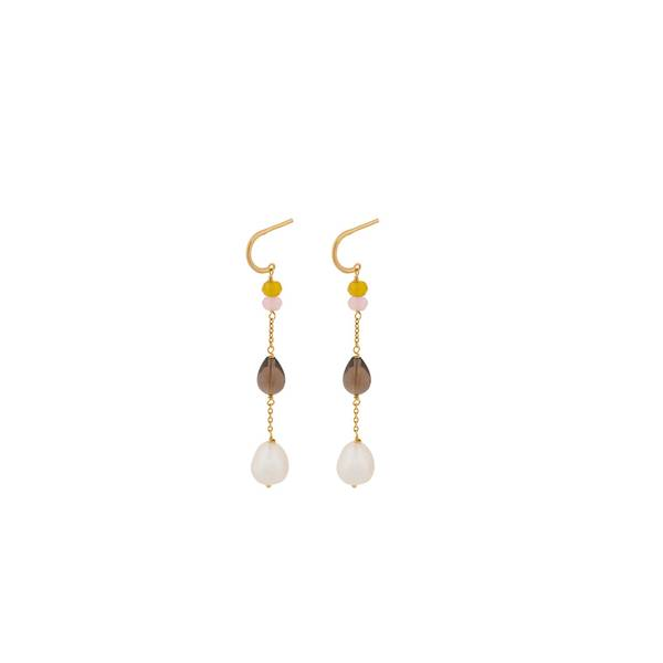 Bilde av Pernille Corydon - Lagoon Shade Earrings 56mm