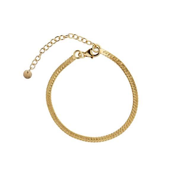 Bilde av Stine A - Armbånd Snake Bracelet Gold