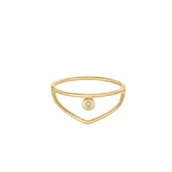 Bilde av Pernille Corydon - R Barcelona Ring White Opal