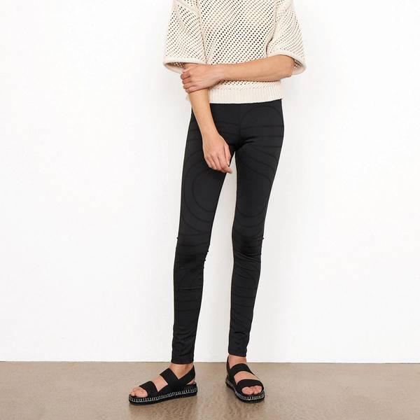 Bilde av Second Female - Tights Seol Leggings Asphalt