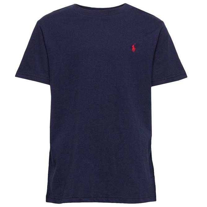 Bilde av Polo Ralph Lauren - Tee Top Knit Navy Girls