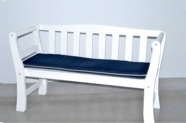 Bilde av Drømminge benkepute - design Navy
