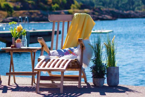 Bilde av Skagen sett dekkstol+bord - teak