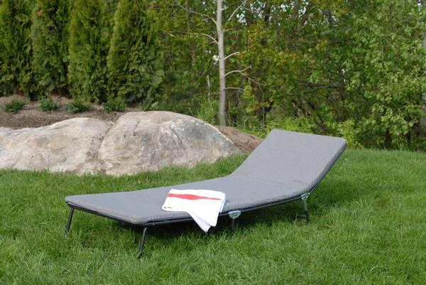 Bilde av Relax solseng - design Granittgrå