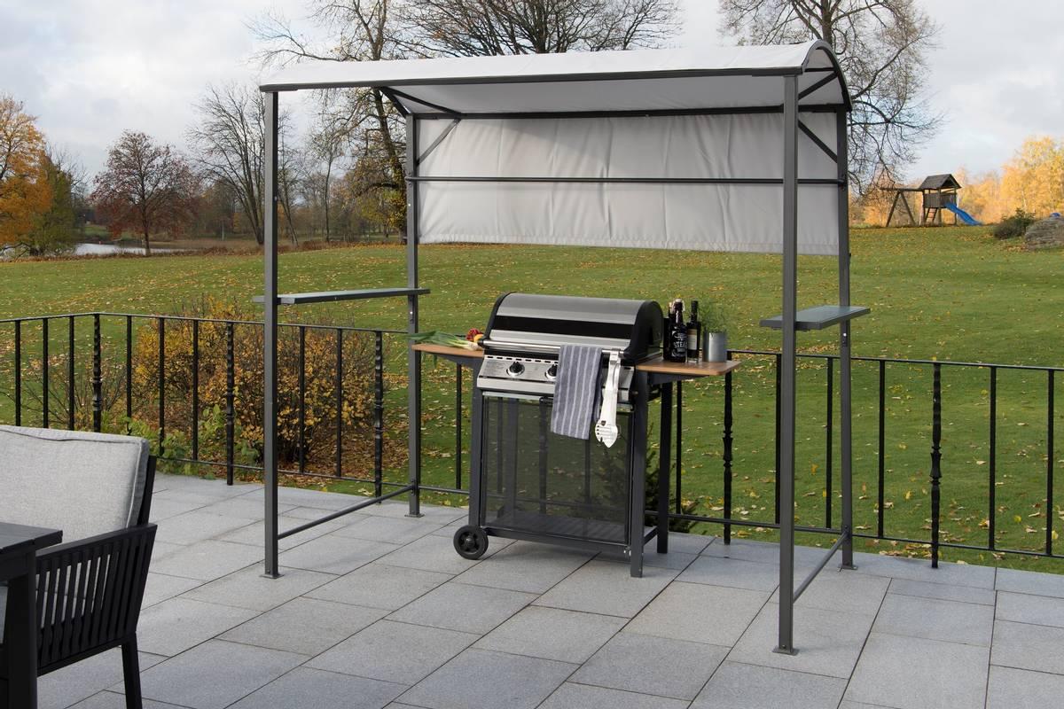 Hillerstorp reservetak til BBQ grilltelt - lys grå