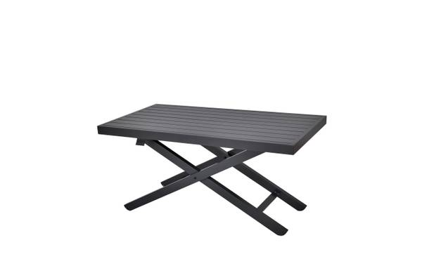 Bilde av Salina høydejusterbart bord 120x65 cm - sort