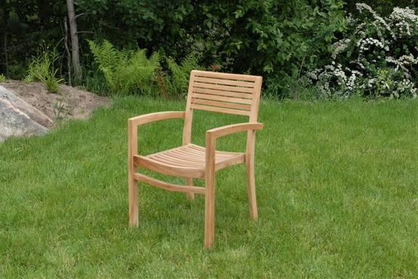 Bilde av Figaro stabelbar stol - teak