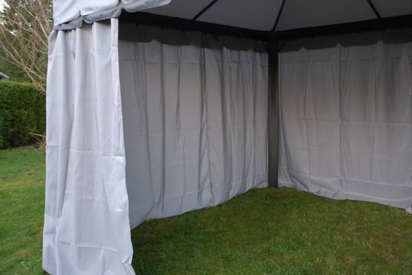 Bilde av Comfort veggsett til 3x4m paviljong - grå