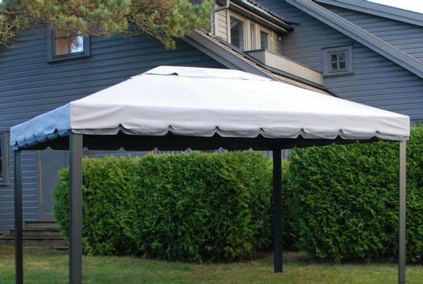 Bilde av Comfort tak til 3x4 m paviljong - grå