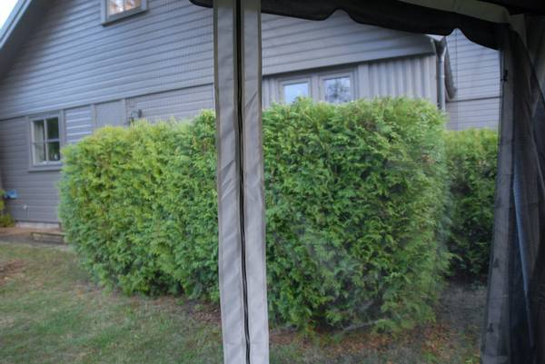 Bilde av Comfort myggnett sett til 3x4m paviljong - grå