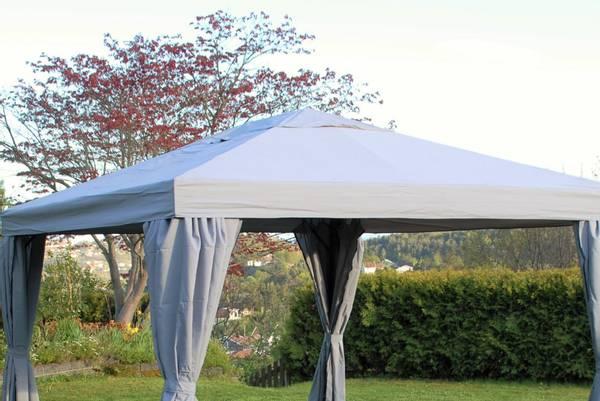 Bilde av Support tak til 3x3 m paviljong - grå